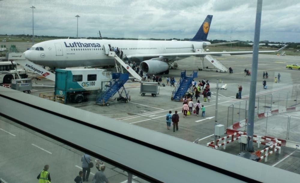 Lufthansa Airbus A330 Dublin