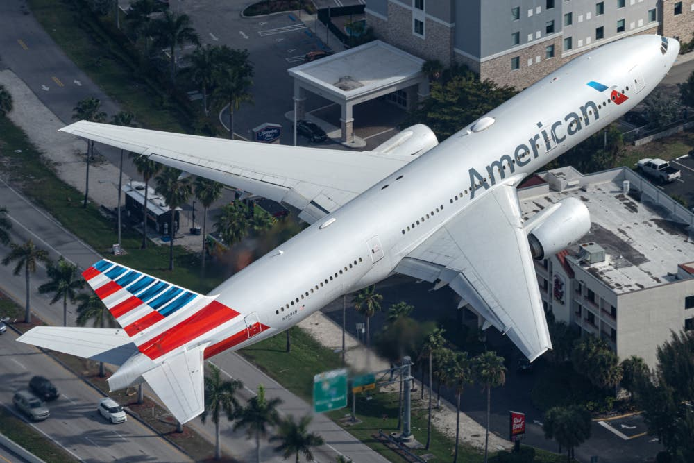 American B777