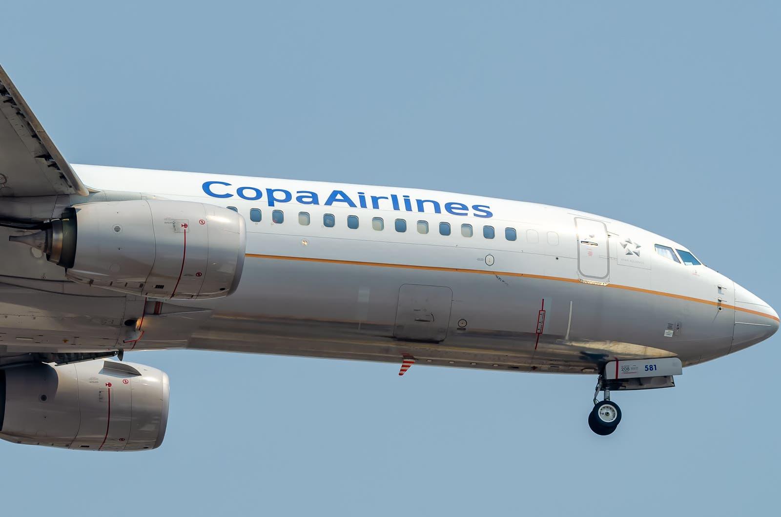Copa Airlines Boeing B737-8V3 COPA Airlines HP-1840CMP MMMX Apr 26 2021 AF 01-