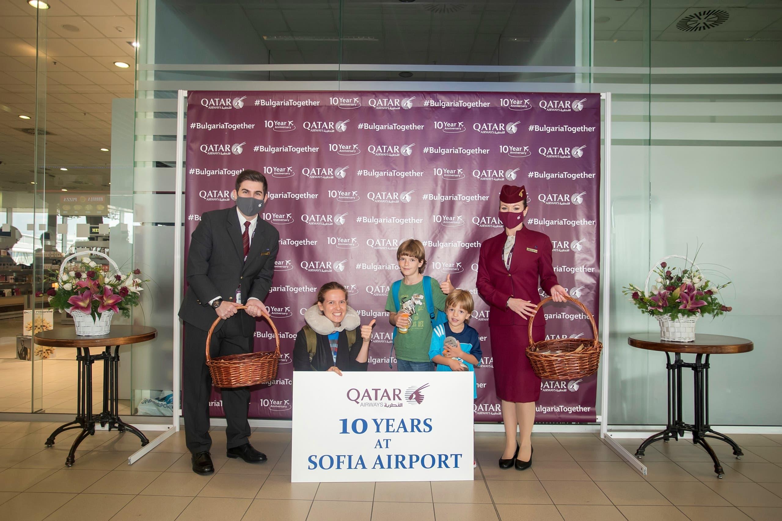 10 Years Strong: Qatar Airways Celebrates Its Sofia Aniversary