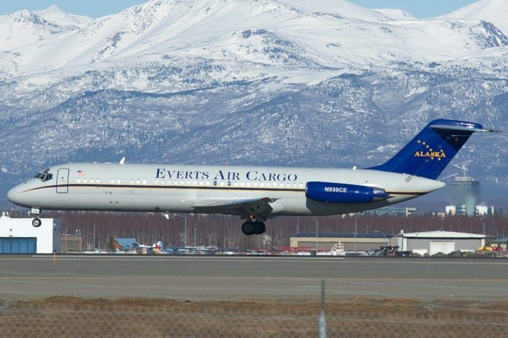 Everts Air Cargo DC-9
