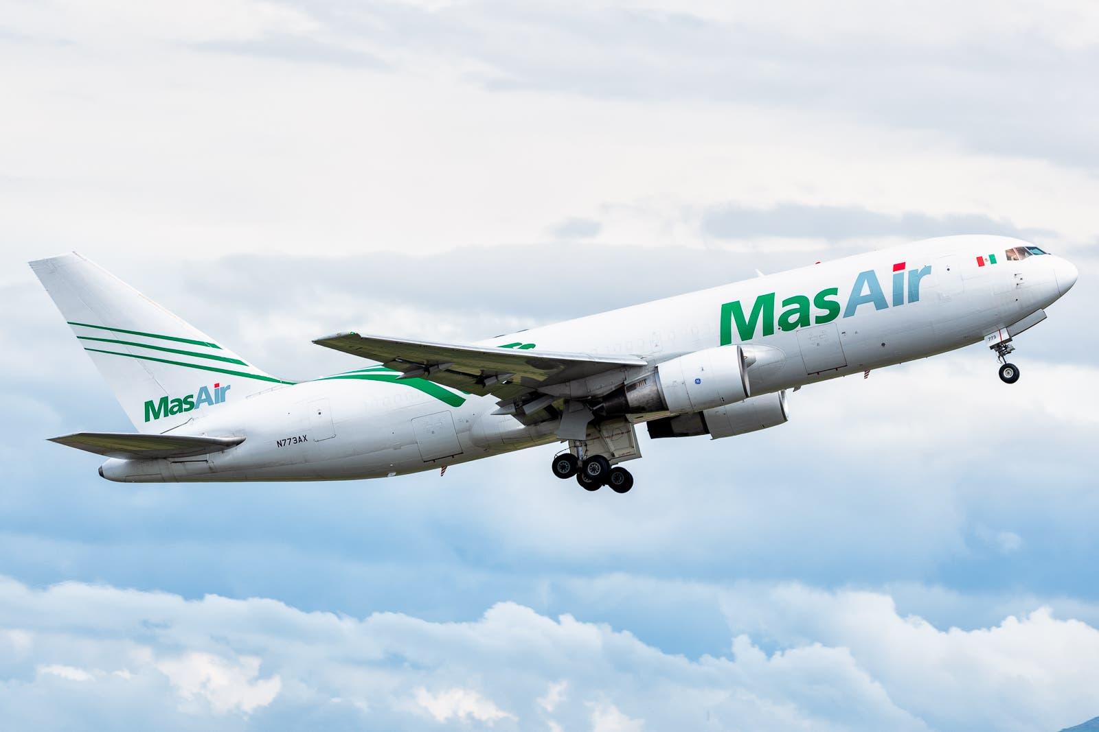 Boeing B767-281BDSF N773AX MAS Air Cargo MMMX Aug 28 2021 AF 03