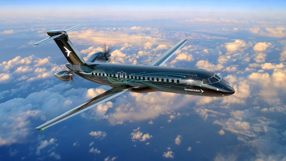 new embraer turboprop