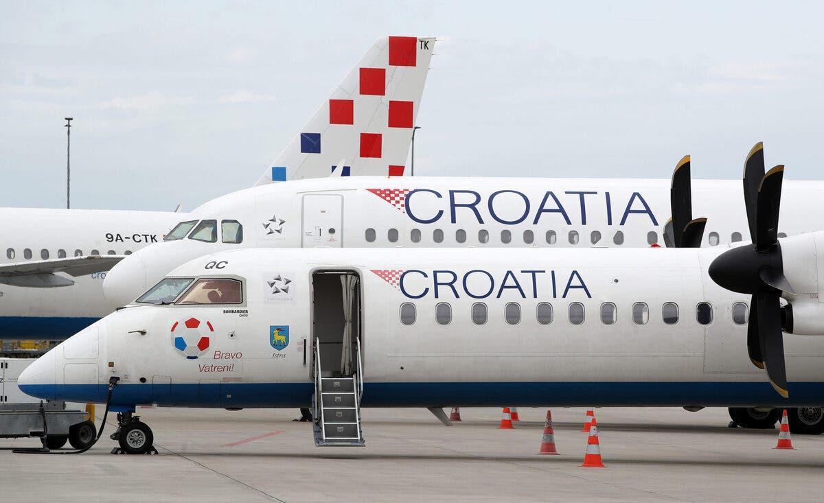 Croatia Airlines Airbus Dash