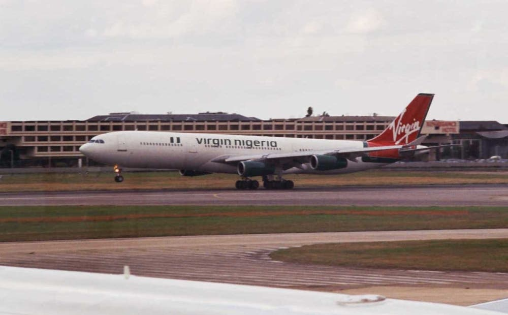 Virgin Nigeria Airbus A340