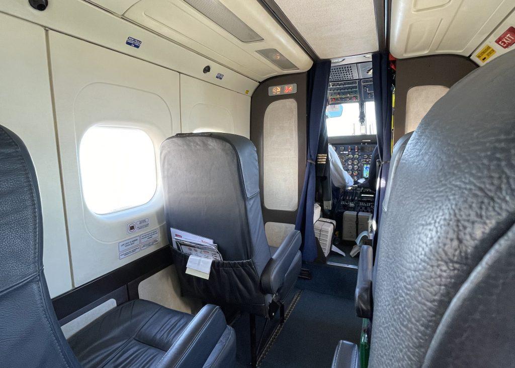 Sevenair Dornier 228 cabin