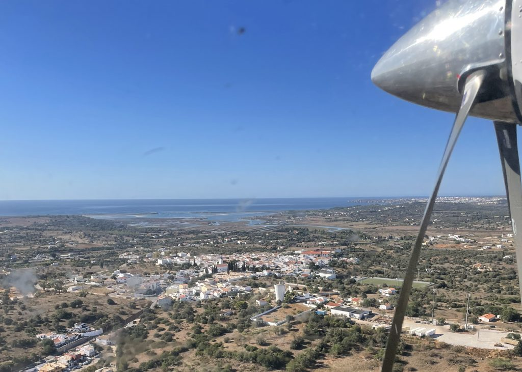 Landing Sevenair Portimao